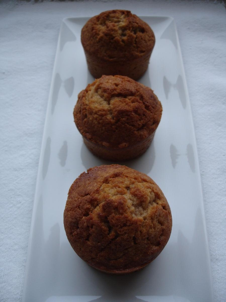 Muffins à la crème de marrons coeur coulant
