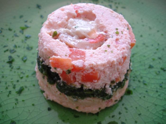 Terrine de saumon aux Saint-Jacques