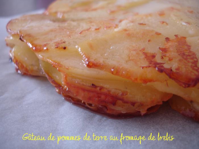 Gâteau de pommes de terre au brebis