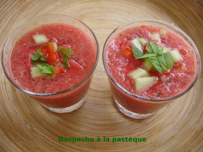 Gaspacho à la pastèque