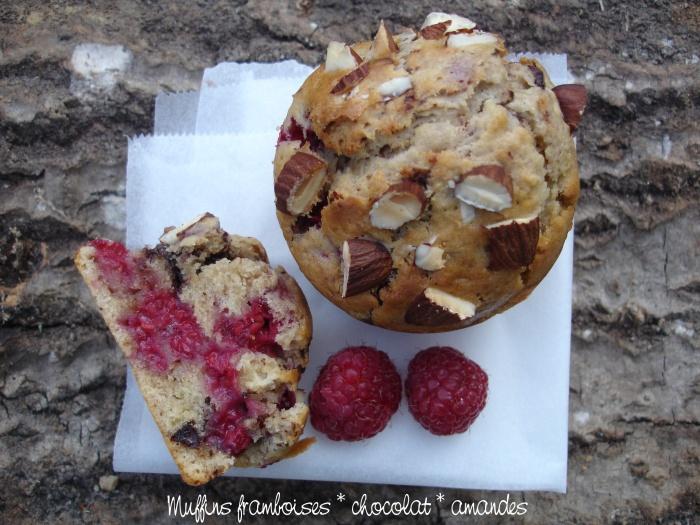 Muffins framboises chocolat amandes3