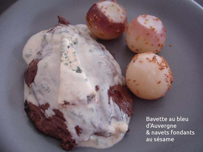 Bavette au bleu d'Auvergne