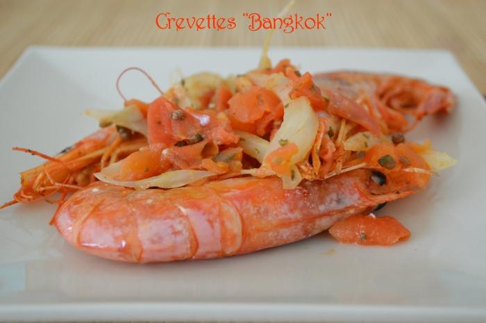 """Crevettes """"Bangkok"""""""