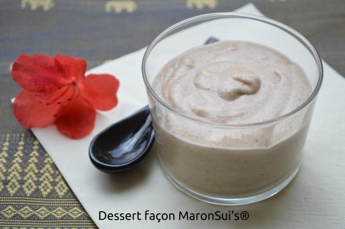 Dessert façon MaronSui's®