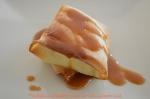 Feuilleté au camembert sauce caramel au beurre salé