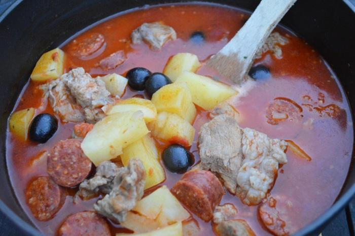 Sauté de veau à la catalane