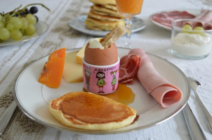 Pancakes de Rose Bakery