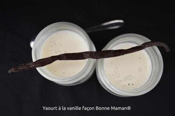 Yaourts à la vanille façon Bonne Maman®
