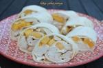 Wraps poulet-mangue