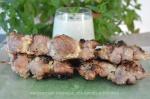 Brochettes d'agneau aux épices indiennes