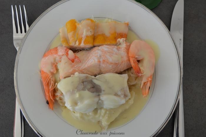 Choucroute aux poissons
