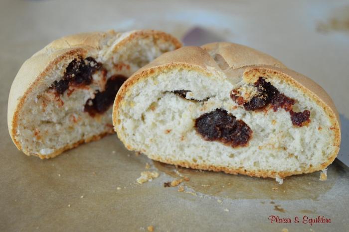 Petits pains à la pâte de dattes