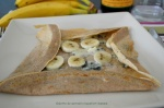 Galette de sarrasin roquefort-banane