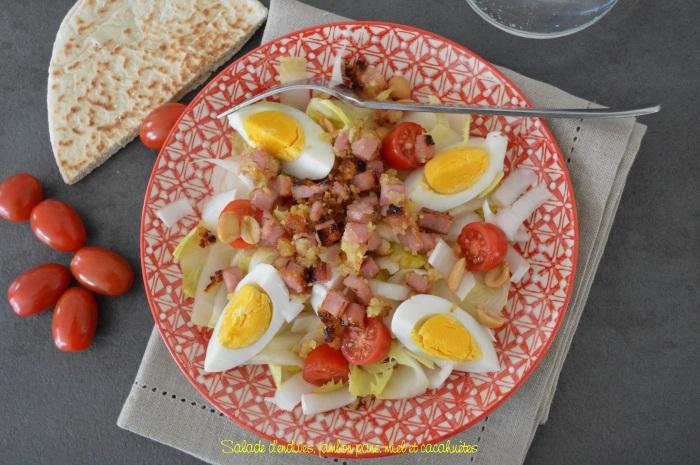 Salade_d_endives_jambon_pane_miel_et_cacahuetes1