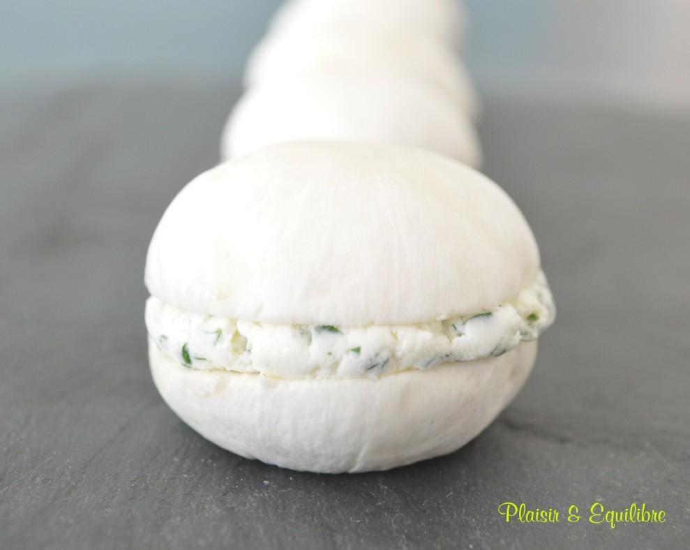 Macarons de champignons de Paris