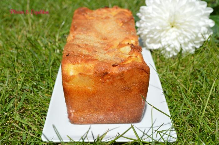 Cake aux pommes presque marbré