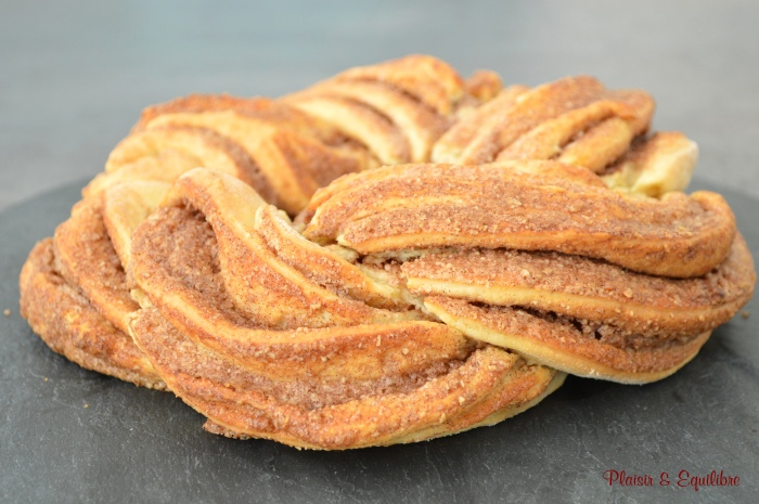 Kringle estonien aux amandes et à la cannelle