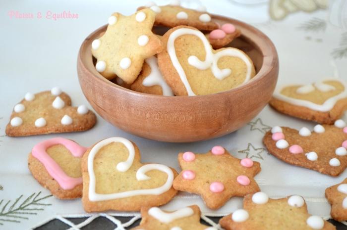 Petits biscuits de Noël à l'orange et aux épices