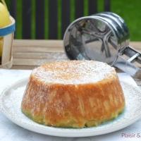 Apfelmuskuchen ou gâteau à la compote de pommes