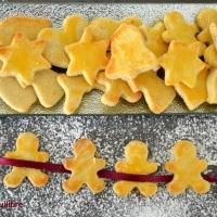 Petits gâteaux de Noël aux amandes -Schwobebredle-